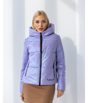 Куртка модель 232 premium бузковий