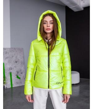 Куртка модель 232 premium лайм