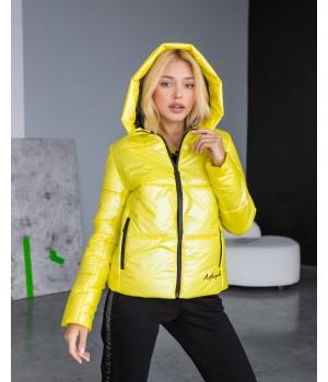 Куртка модель 232 premium жовтий
