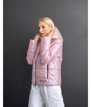 Куртка модель 232 premium пудра