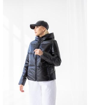 Куртка модель 232 premium черний матовий