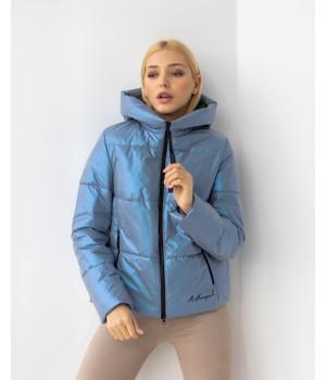 Куртка модель 232 premium світлий джинс