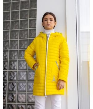Куртка модель Кароліна жовтий