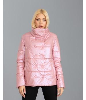 Куртка модель 236 рожева пудра