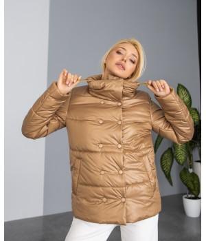 Куртка модель 236 карамель