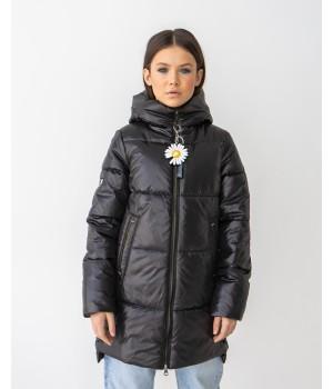 Куртка модель Мілена чорний