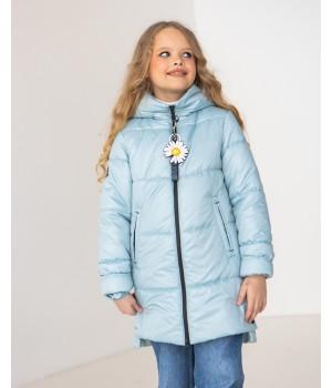 Куртка модель Мілена світла м'ята