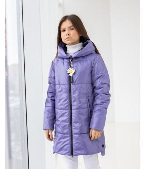 Куртка модель Мілена лаванда