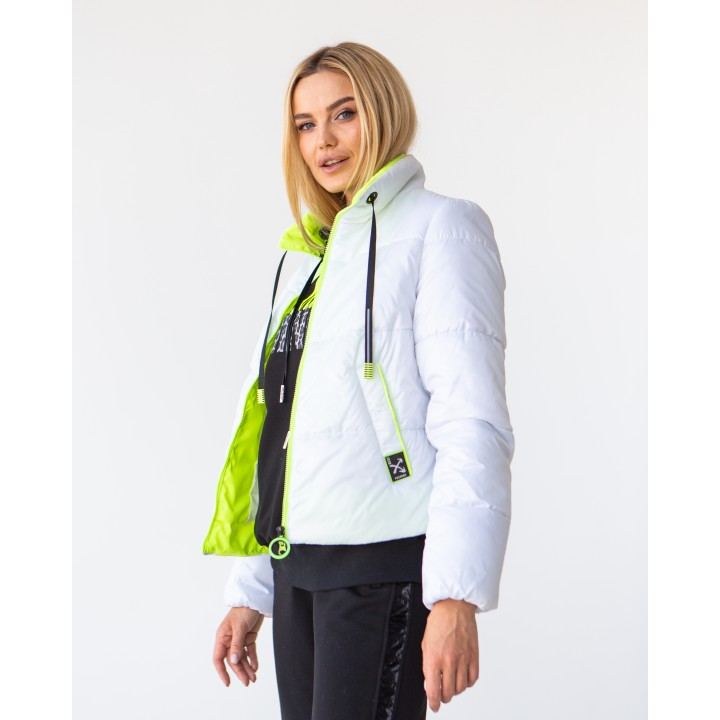 Куртка модель 242 білий