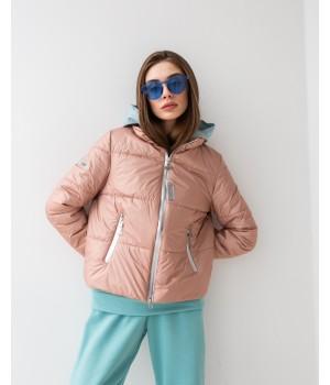 Куртка модель 243 Dior темна пудра