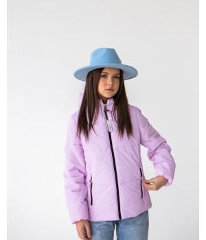 Куртка модель Сабрина бузковий