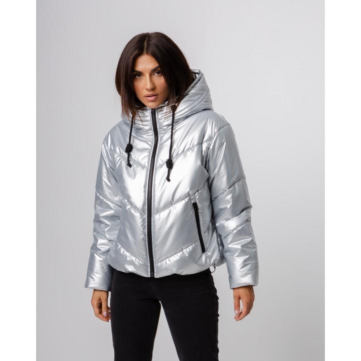 Куртка модель 263 Kenzo металік